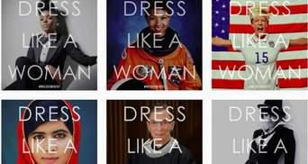 #DressLikeAWoman: в США набирает обороты новый женский флешмоб против Трампа