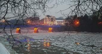 """Ужгороду грозит подтопление из-за ледового """"затора"""" в Словакии"""