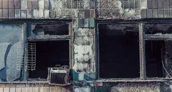 """Убийство """"Гиви"""": появилось видео из взорванного офиса боевика"""