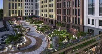 На Подоле появится первый деловой квартал с зеленой зоной отдыха, открытой для всех горожан