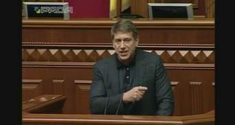 Я перший візьму в руки автомат, – Насалик сказав, за яких умов приєднається до блокади Донбасу