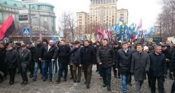 Хронологія протесту: як націоналісти ходили до Порошенка