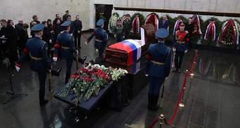 В Москве похоронили Виталия Чуркина: фоторепортаж
