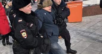 Террорист с Донбасса устроил драку на месте убийства Немцова