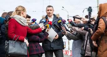 Кличко: Движение на Шулявском путепроводе откроют в ограниченном режиме