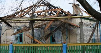 Боевики обстреляли жилые дома в Марьинке
