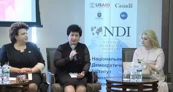 Женщины в Харькове выступили за увеличение их представительства в органах власти