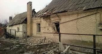 Марьинка попала под шквальный обстрел: опубликовали фото