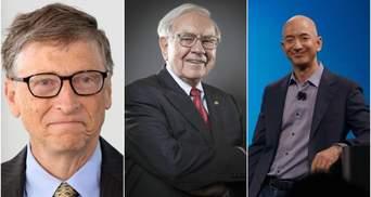 Forbes назвал самых богатых людей планеты