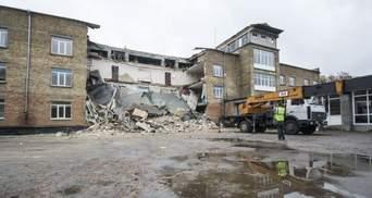 Уряд не планує відновлювати школу у Василькові, яка обвалилась минулоріч
