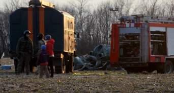 Все погибшие в результате катастрофы вертолета – офицеры ВСУ