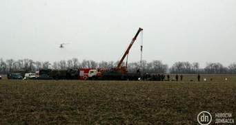 Авіакатастрофа військового гелікоптера: почали евакуацію тіл загиблих