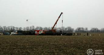 Авиакатастрофа военного вертолета: начали эвакуацию тел погибших
