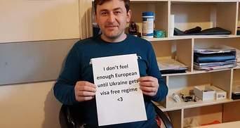 Грузини запустили флешмоб на підтримку безвізу для України