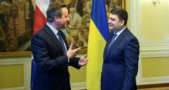 Встреча двух премьеров: о чем говорили Гройcман с Кэмероном