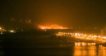 Под Киевом произошел мощный пожар: фото и видео