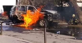 Похоронили полковника СБУ, авто которого взорвали в Мариуполе