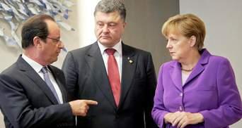 Порошенко провів телефонну розмову з Меркель та Олландом: оприлюднено подробиці