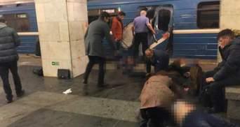 У петербурзькому метро кажуть про вибух невстановленого предмета