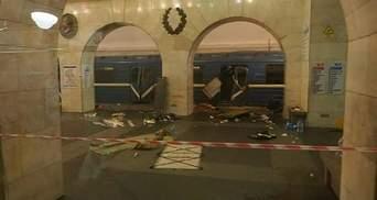 Взрыв в Петербурге: появилось видео из эпицентра