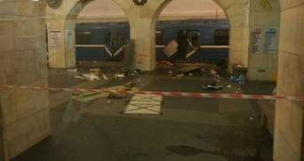 Ймовірний терорист у Петербурзі потрапив на камери спостереження: оприлюднили фото