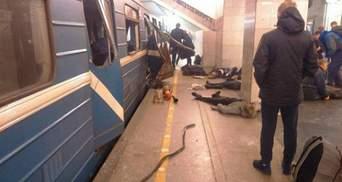 Понівечені тіла і нелюдські крики: метро Петербурга за секунди після вибуху (відео 18+)