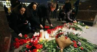 Кількість загиблих внаслідок теракту в Петербурзі зросла