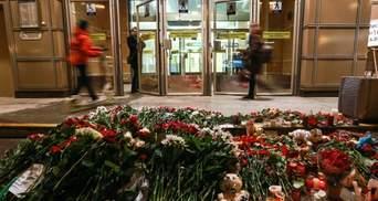 Зросла кількість жертв внаслідок теракту в Санкт-Петербурзі