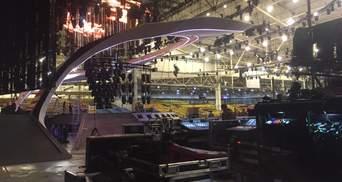 Руслана показала, як готують головну сцену Євробачення