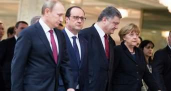 """""""Нормандская четверка"""" хочет, чтобы Олланд продолжил участвовать в переговорах после выборов"""