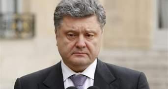 Порошенко отреагировал на взрыв авто ОБСЕ
