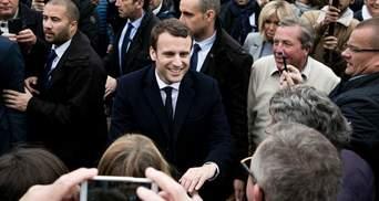 Предварительные результаты выборов во Франции: Макрон лидирует