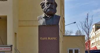 """Пам'ятник Марксу на території фабрики """"Рошен"""" має бути демонтований, – В'ятрович"""