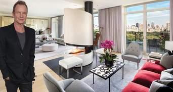 Як виглядає розкішна квартира Стінга: з'явилися фото