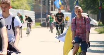 """""""Никогда нельзя забывать"""", – в Запорожье провели велопробег памяти"""