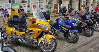 Более полутысячи мотоциклистов открыли байкерский сезон во Львове