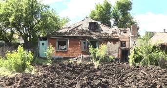 Как жители Красногоровки приходят в себя после обстрела боевиками жилых кварталов