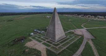 Ураган снес 44-метровую пирамиду в Подмосковье: видео