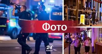 Налякані люди, сотні озброєних поліцейських та вертоліт: з'явились фото з терактів у Лондоні