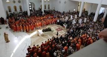 Любомира Гузара похоронили в Киеве