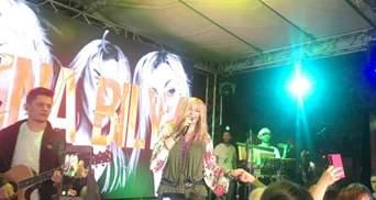 Опальна Білик під сутички все ж провела концерт в Одесі