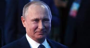 Карикатурист висміяв Путіна-нежінку
