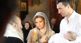 Марченко підтвердила, що стала з Кличком-молодшим хрещеними доньки Шуфрича