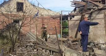 Бойовики вдарили вогнем по домівках мирних жителів Мар'їнки