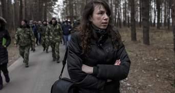 Черновол отреагировала на ужасную смерть своего обидчика