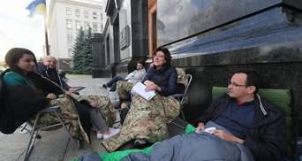 """Як проходить 5 день голодування нардепів від """"Об'єднання """"Самопоміч"""""""
