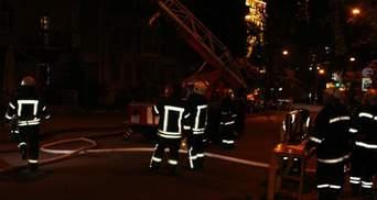 В многоэтажке Киева вспыхнул пожар: есть жертвы