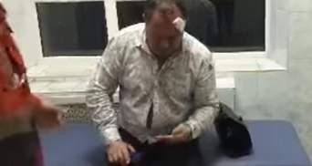 П'янючий поліцейський на службовому авто протаранив стовп у Харкові: з'явилось відео