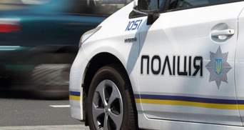 У Києві вкрадене авто протаранило патрульну машину поліції: з'явилось фото