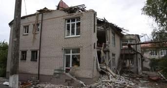 Терористи цинічно мінами обстріляли житлові будинки у Мар'їнці